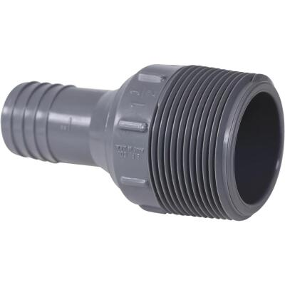 Boshart 1 In. Insert x 1-1/2 In. MIP Reducing Polypropylene Hose Adapter