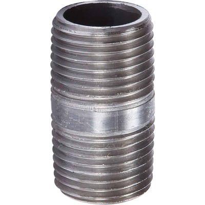 Southland 1-1/2 In. x Close Welded Steel Galvanized Nipple