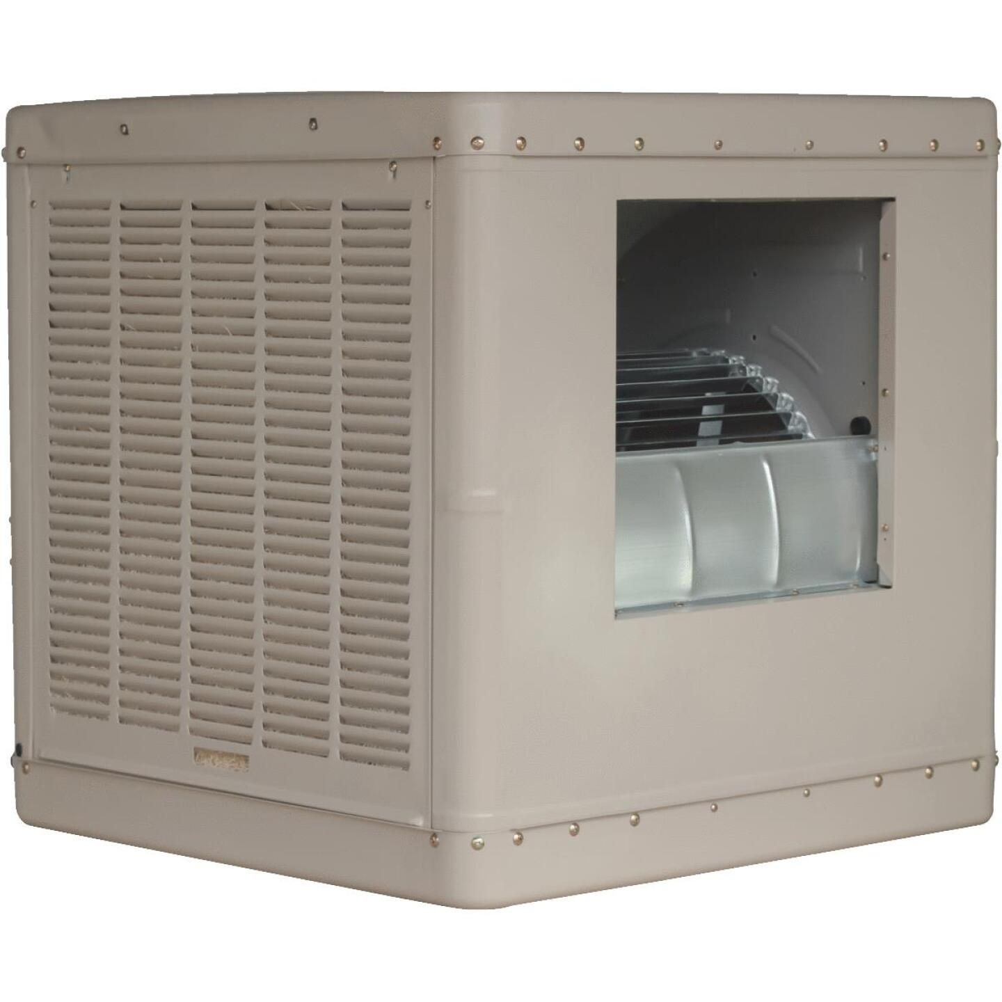 Essick 2230 to 4600 CFM Side Discharge Whole House Aspen Media Residential Evaporative Cooler, 800-1700 Sq. Ft. Image 1