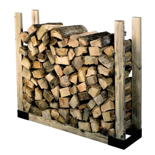 Shelter Brackets 14 In. Log Rack Kit