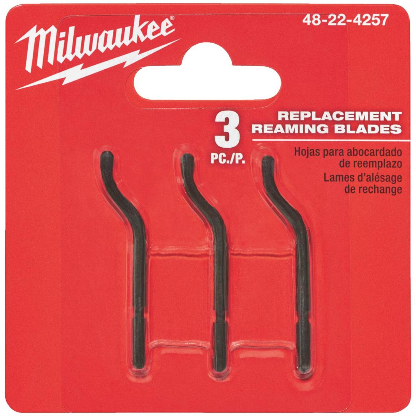 Milwaukee Reamer Replacement Blade (3-Pack) Image 1