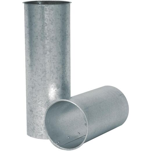Imperial 28 Ga. 8 In. x 6 In. Galvanized Chimney Thimble