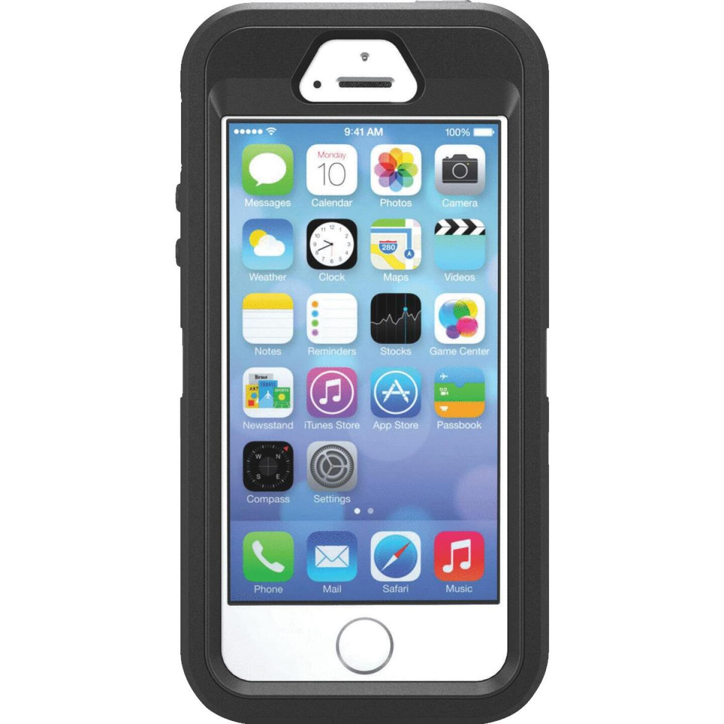 iPhone 5/5S Black OtterBox Cell Phone Case Image 1