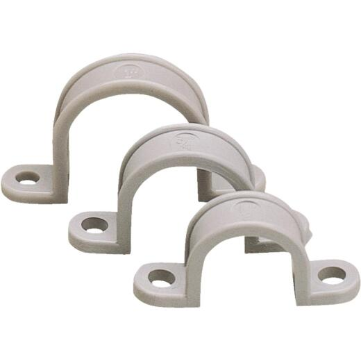 Gardner Bender 1-1/4 In. Non-Corrosive Plastic/Schedule 40 PVC/Copper Conduit Strap (10-Pack)