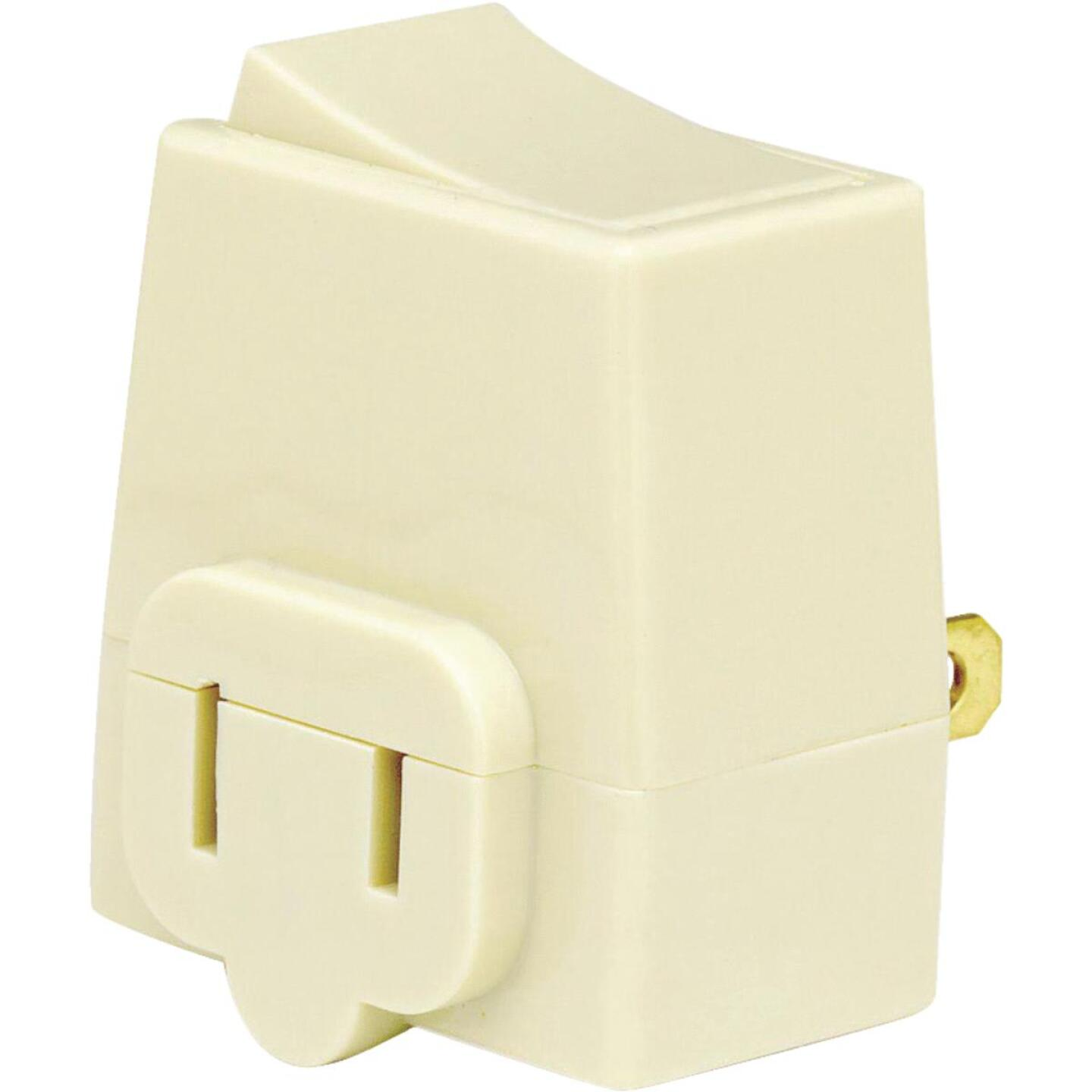 Leviton Ivory 13A Plug-In Switch Adapter Image 2