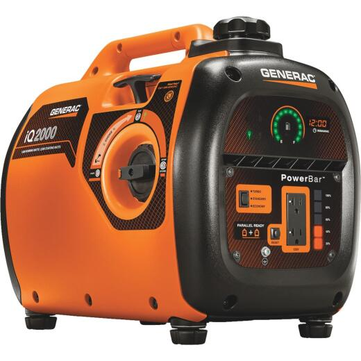Generac 2000W Gasoline Powered Portable Inverter Generator