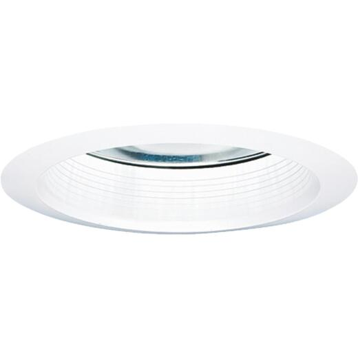 Halo Air-Tite 6 In. White Baffle w/White Reflector Recessed Fixture Trim
