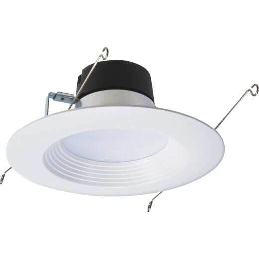 Halo 6 In. Retrofit IC Rated White Recessed Light Kit