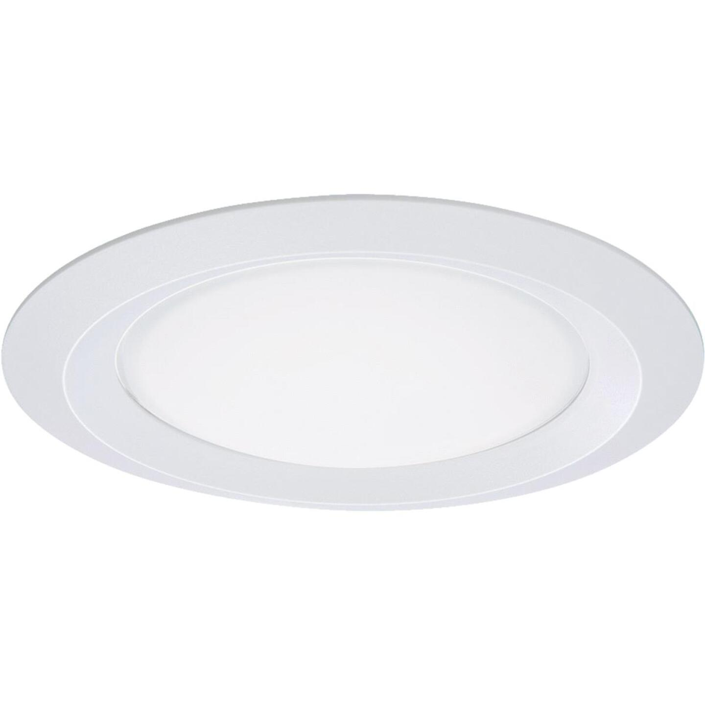 Halo 5 In. White Shower Recessed Fixture Trim Image 1