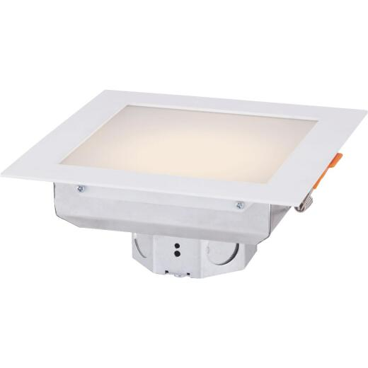Canarm 6 In. Remodel IC Rated White LED Recessed Light Kit