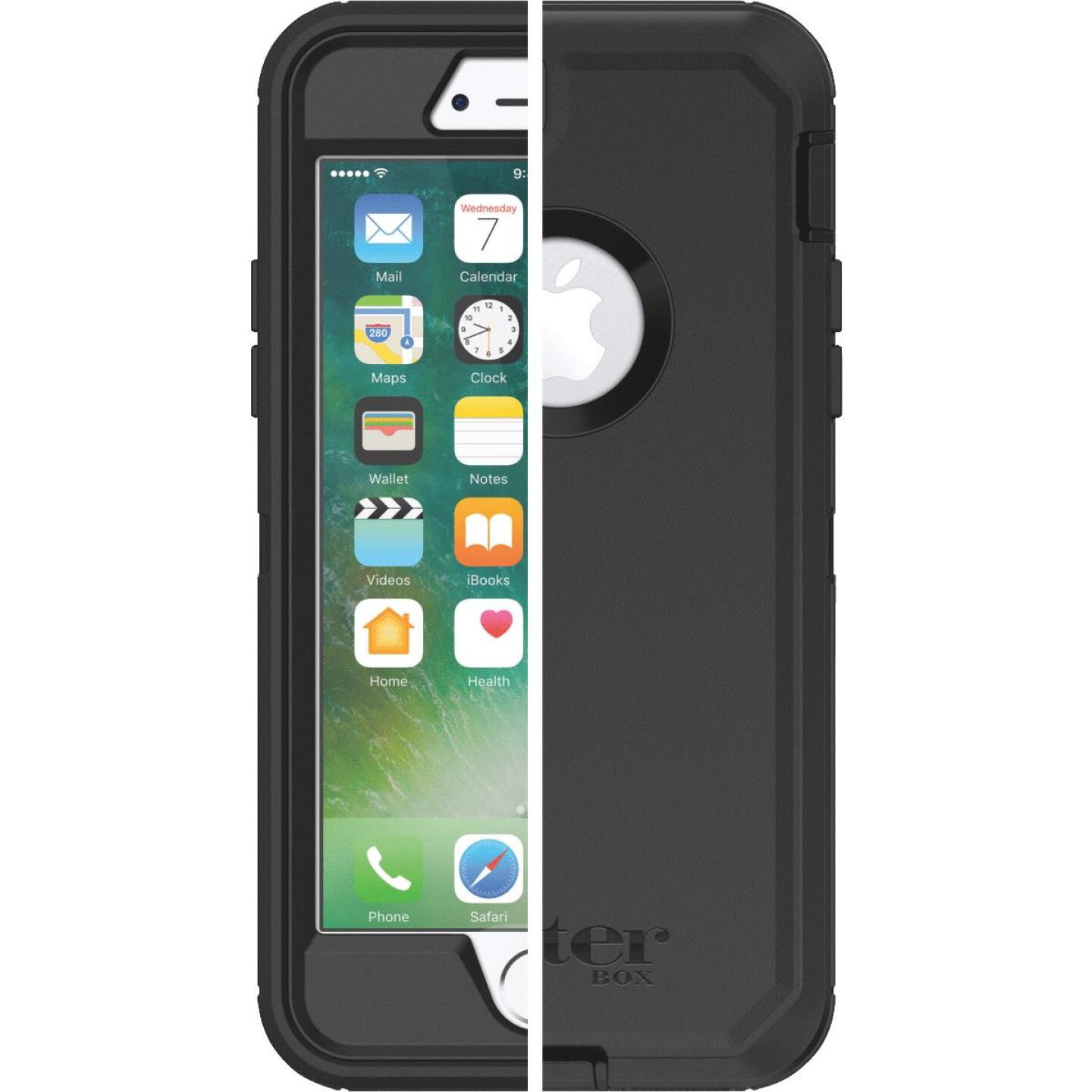 Otterbox Defender Series iPhone 7 Black Cell Phone Case Image 1