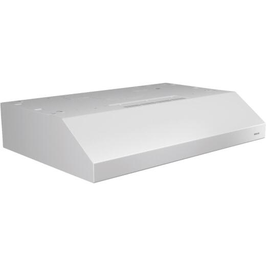 Broan Glacier 30 In. Convertible White Range Hood
