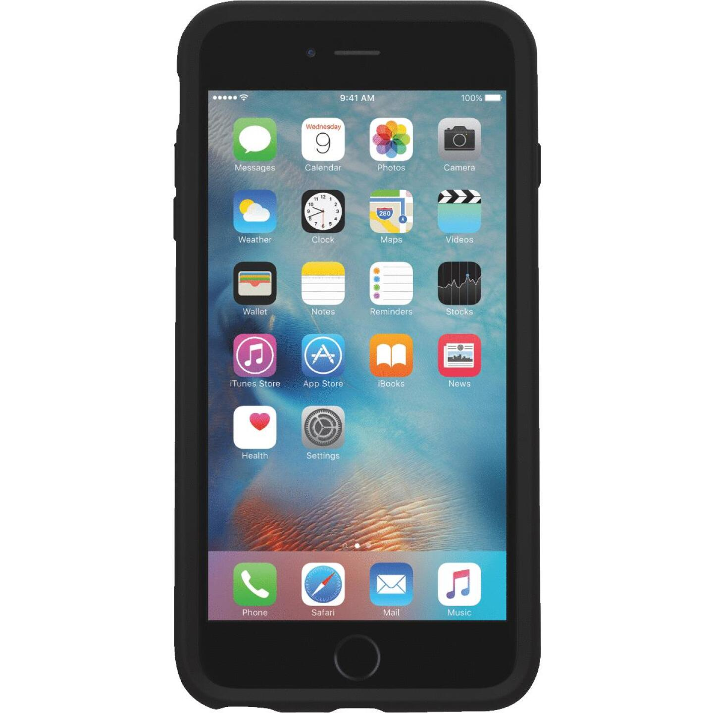 Otterbox Symmetry Series iPhone 6+/6s+ Black Cell Phone Case Image 1