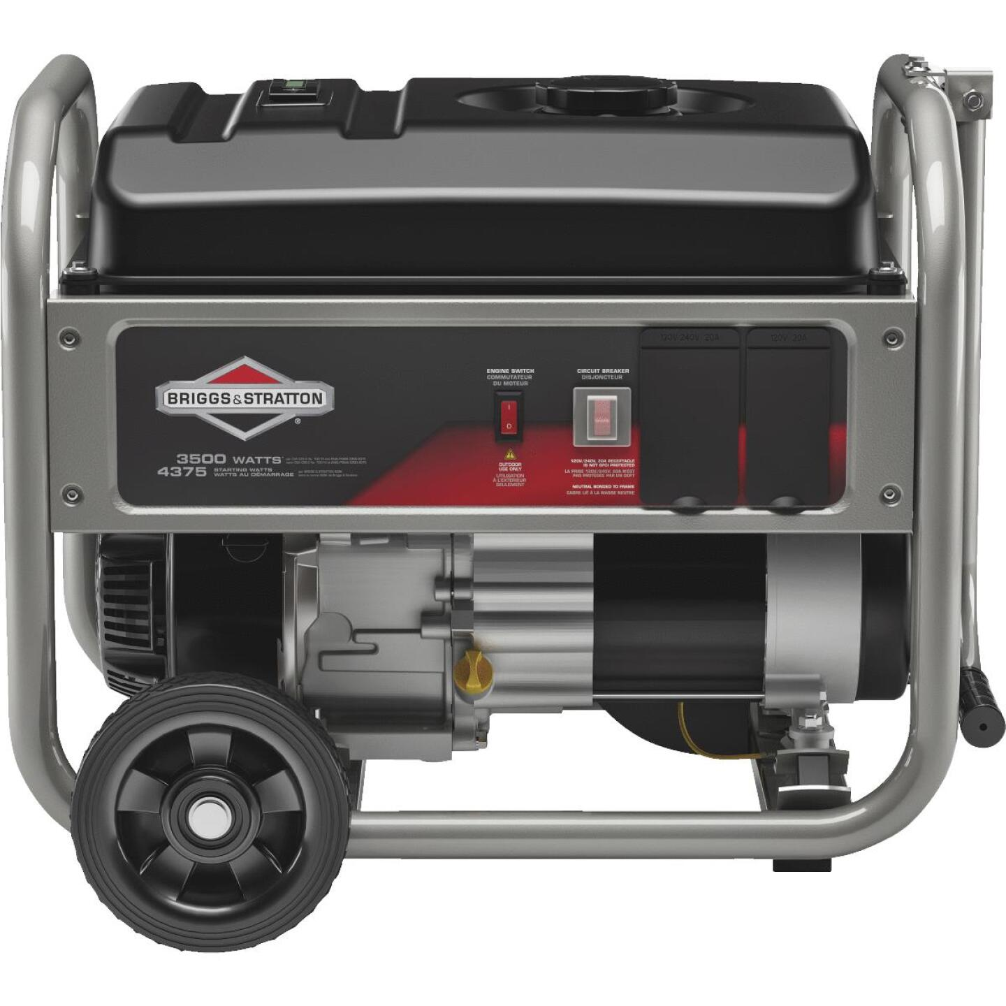Briggs & Stratton 3500W Gasoline Powered Portable Generator Image 1
