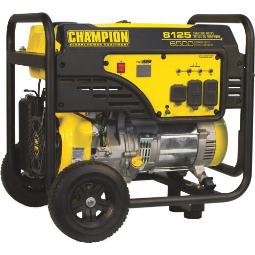 Champion 6500W Gasoline Powered Portable Generator