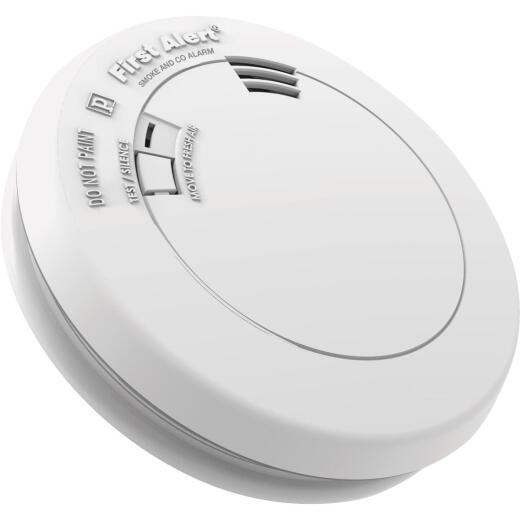 First Alert 10-Year Sealed Battery Photoelectric/Electrochemical Carbon Monoxide and Smoke Alarm with Voice Alert