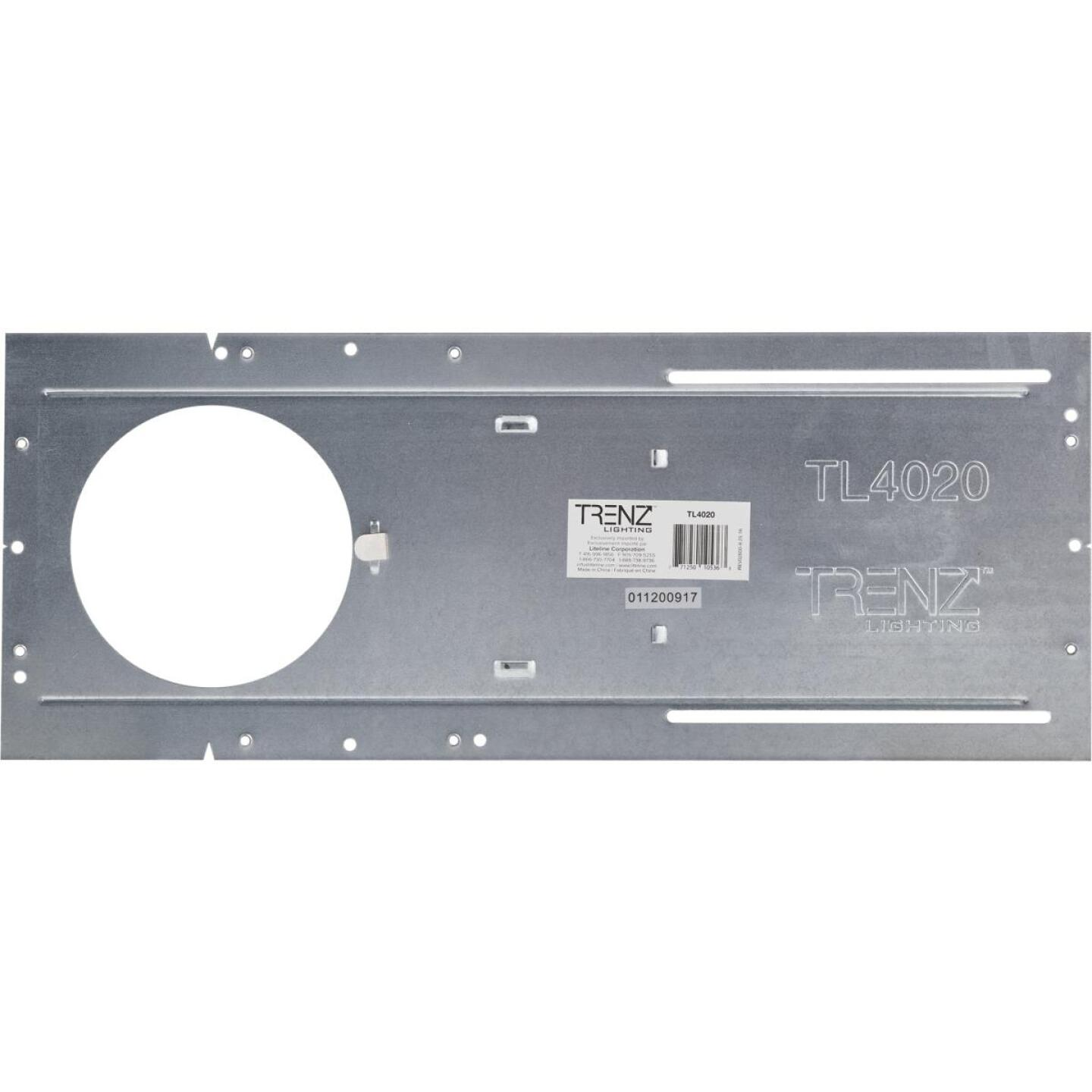 Liteline Trenz ThinLED 4 In. Round Recessed Fixture Mounting Plate Image 2