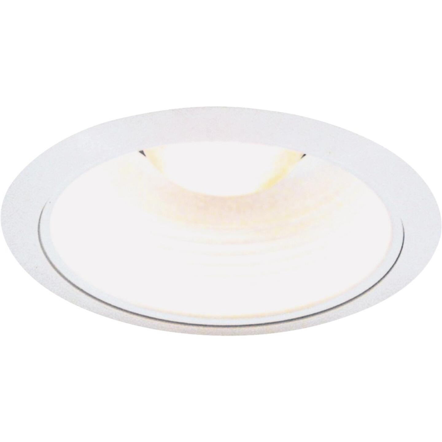Thomas 5 In. White Baffle Recessed Fixture Trim Image 1