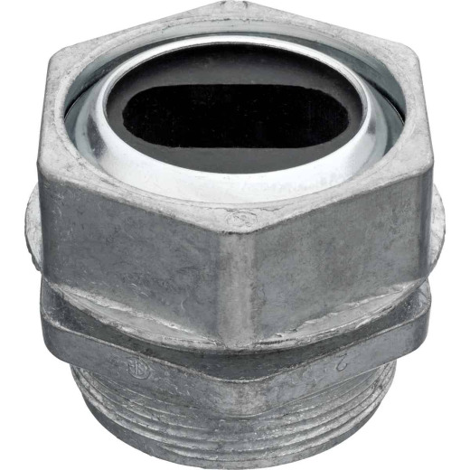 Steel City 1-1/4 In. U-Flat Cast Body Watertight Connector