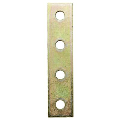 Superstrut 7-1/4 In. L. Flat Goldgalv Electroplated Zinc Bracket