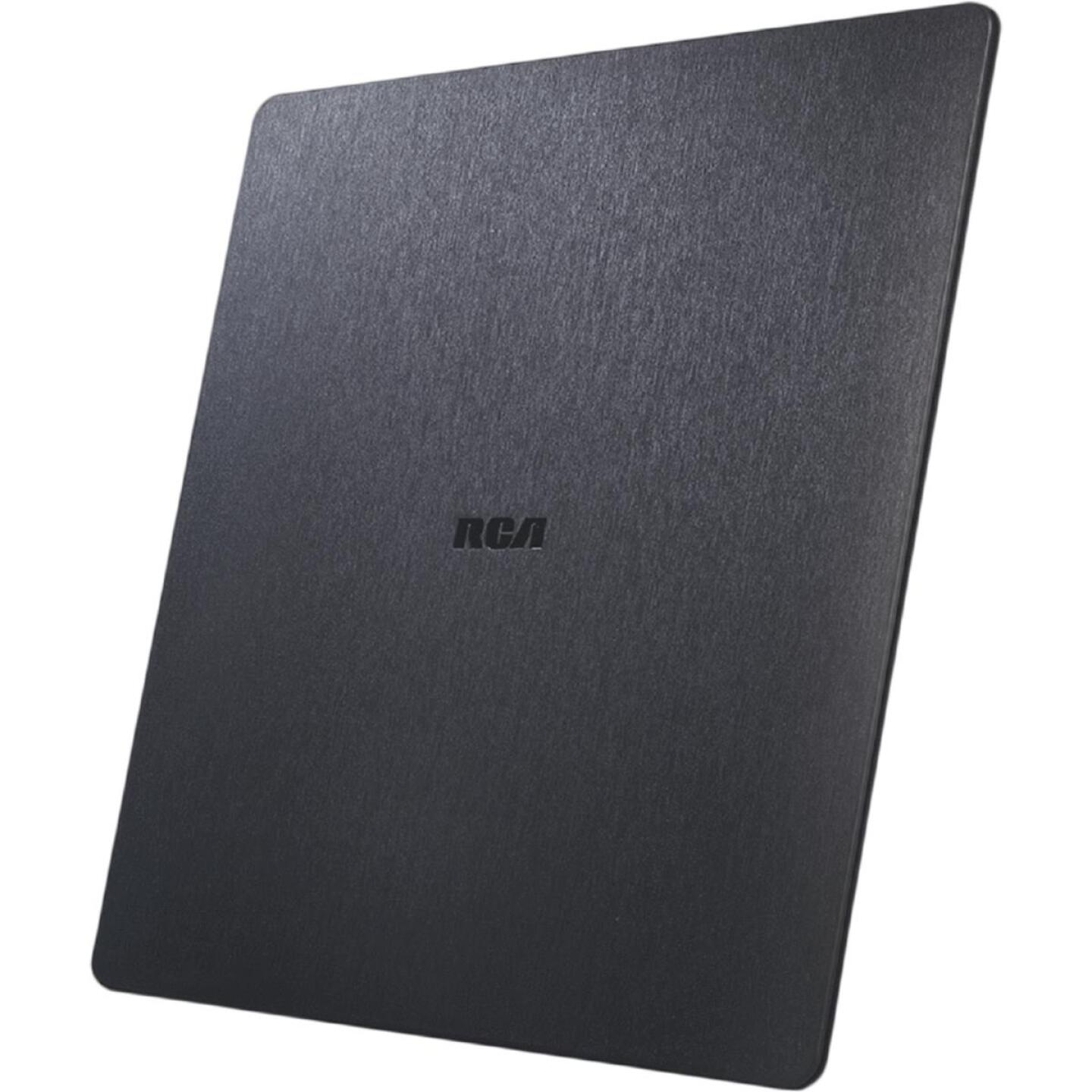 RCA Gold Series Black 8.53 In. Amplified Flat Indoor Antenna Image 2