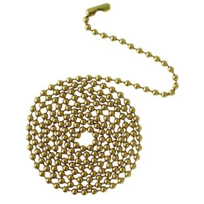 Westinghouse 12 In. Polished Brass Pull Chain