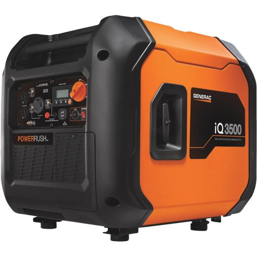 Generac iQ3500 3000W Gasoline Powered Portable Inverter Generator
