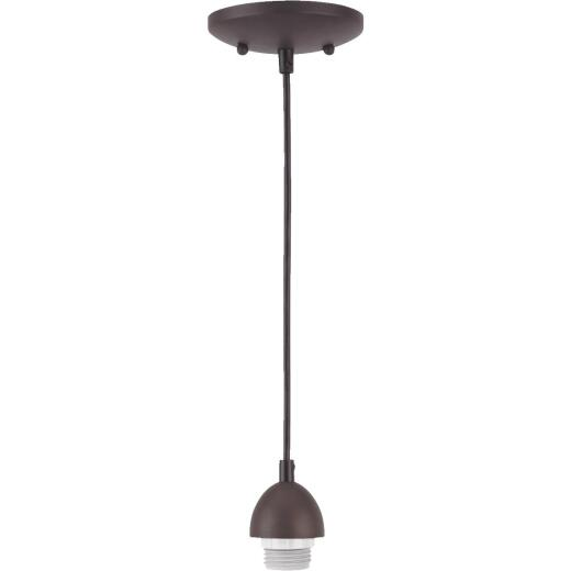 Westinghouse 1 Bulb Oil Rubbed Bronze Incandescent Pendant Light Fixture