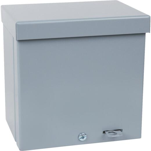 Steel City 6 In. W. x 6 In. H. x 4 In. D. Rainproof Enclosure