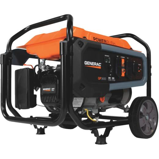 Generac 3600W Gasoline Powered Portable Generator (California Compliant)