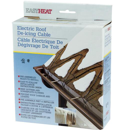 Easy Heat 120 Ft. 120V 5W De-Icing Roof Cable