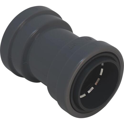 Southwire SimPush 3/4 In. Liquid Tight Push-To-Install Type B Conduit Coupling