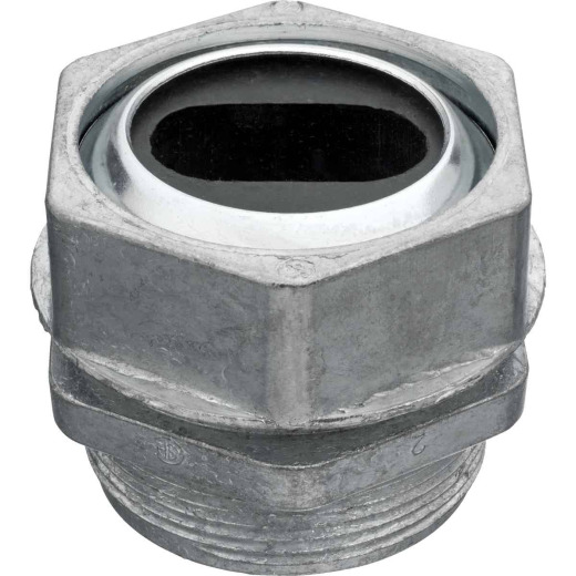 Steel City 1 In. U-Flat Cast Body Watertight Connector