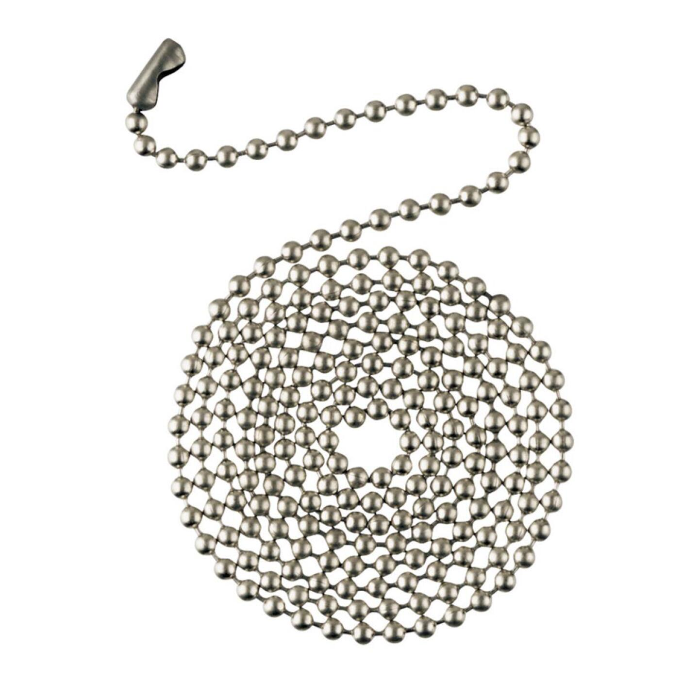 Westinghouse 3 Ft. Polished Nickel Pull Chain Image 1