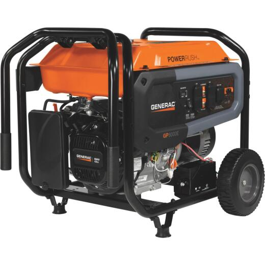 Generac PowerRush 8000W Gasoline Powered Portable Generator