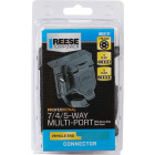Reese Towpower 7-Blade, 4/5-Flat Professional Vehicle Side Connector Image 2