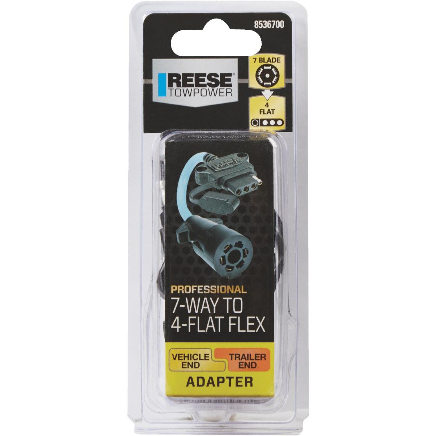 Reese Towpower Professional 7-Blade to 4-Flat Flex Professional Plug-In Adapter Image 2