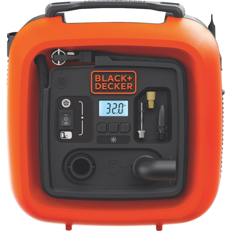 Black & Decker Air Station 12-Volt 160 psi Portable Electric Inflator Image 1