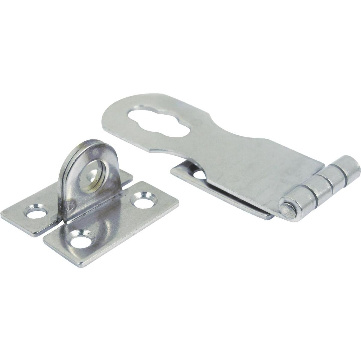 Seachoice 1 In. x 2-7/8 In. Chrome-Plated Stainless Steel Safety Hasp Image 1