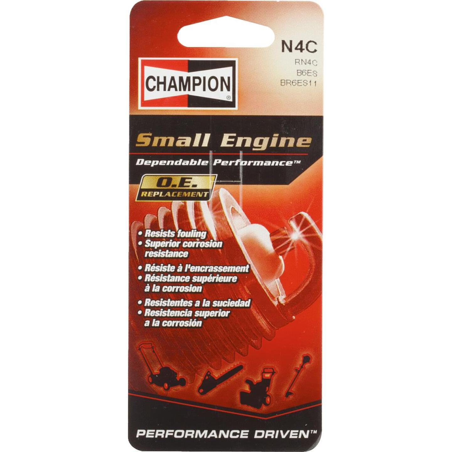 Champion N4C Copper Plus Small Engine Spark Plug Image 1