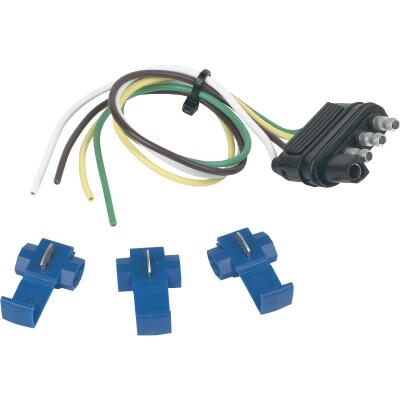 Hopkins 4-Flat 12 In. Trailer Side Connector