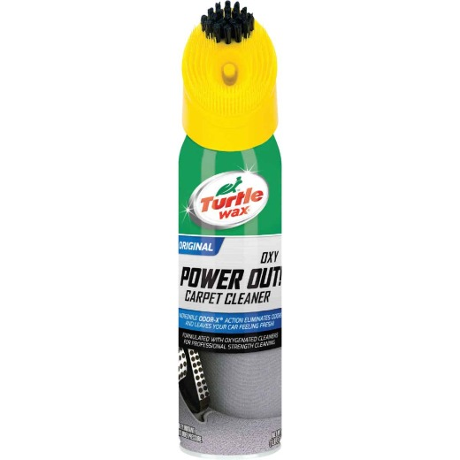 Turtle Wax Oxy Power Out Bristle Cap 18 Oz. Carpet Cleaner