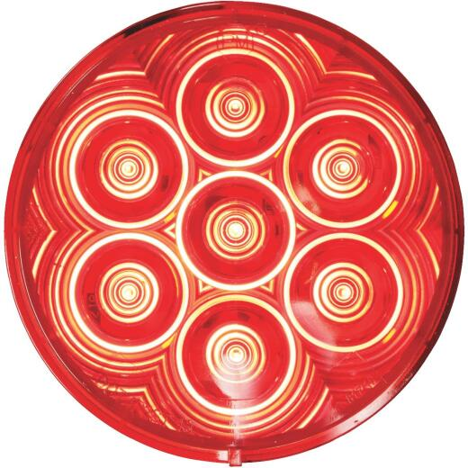 Peterson LumenX Round 9-16 V. Red Stop & Tail Light