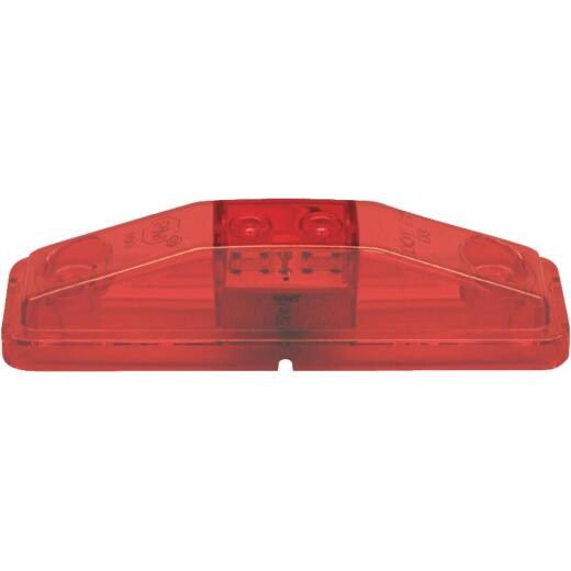 Peterson Rectangle Red Clearance Light