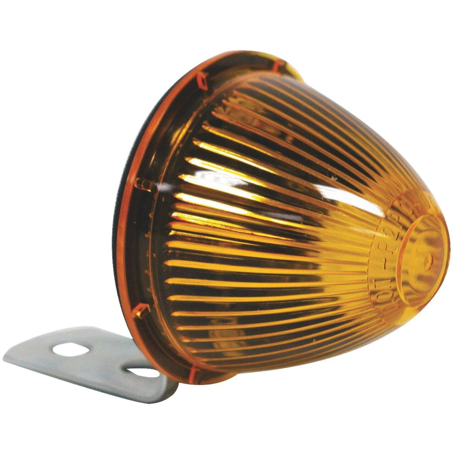 Peterson Beehive 12 V. Amber Clearance Light Image 1