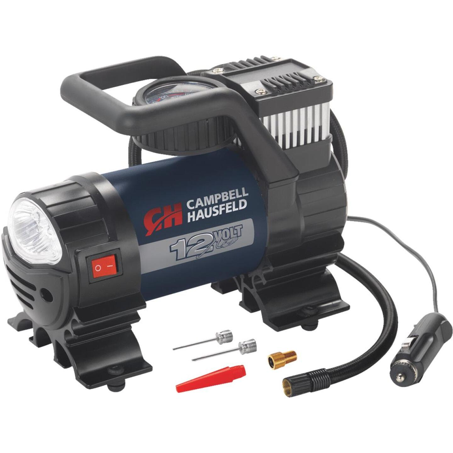 Campbell Hausfeld 12-Volt 150 psi Electric Inflator with Light Image 1