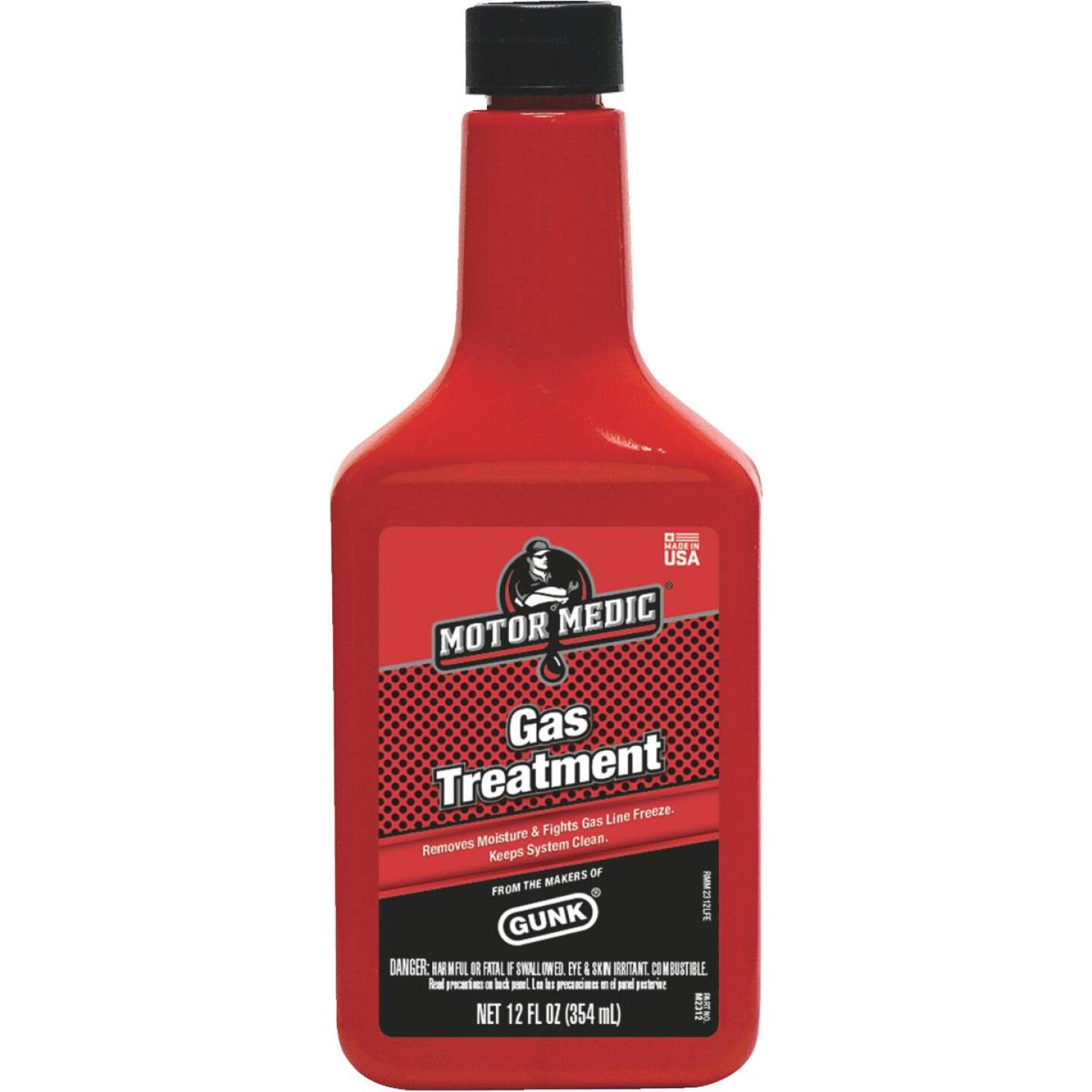 MotorMedic 12 Fl. Oz. Gas Treatment Image 1