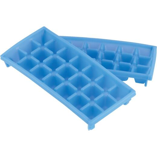 Camco 9 In. L x 4 In. RV Mini Ice Cube Tray, (2-Pack)