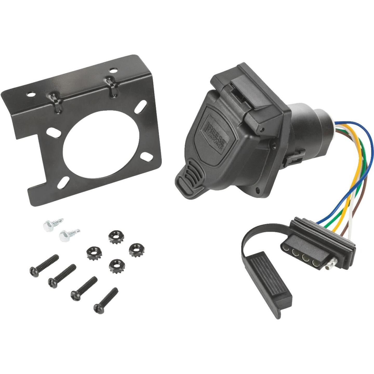 Reese Towpower 4-Flat 36 In. Professional Trailer Side Connector Image 1