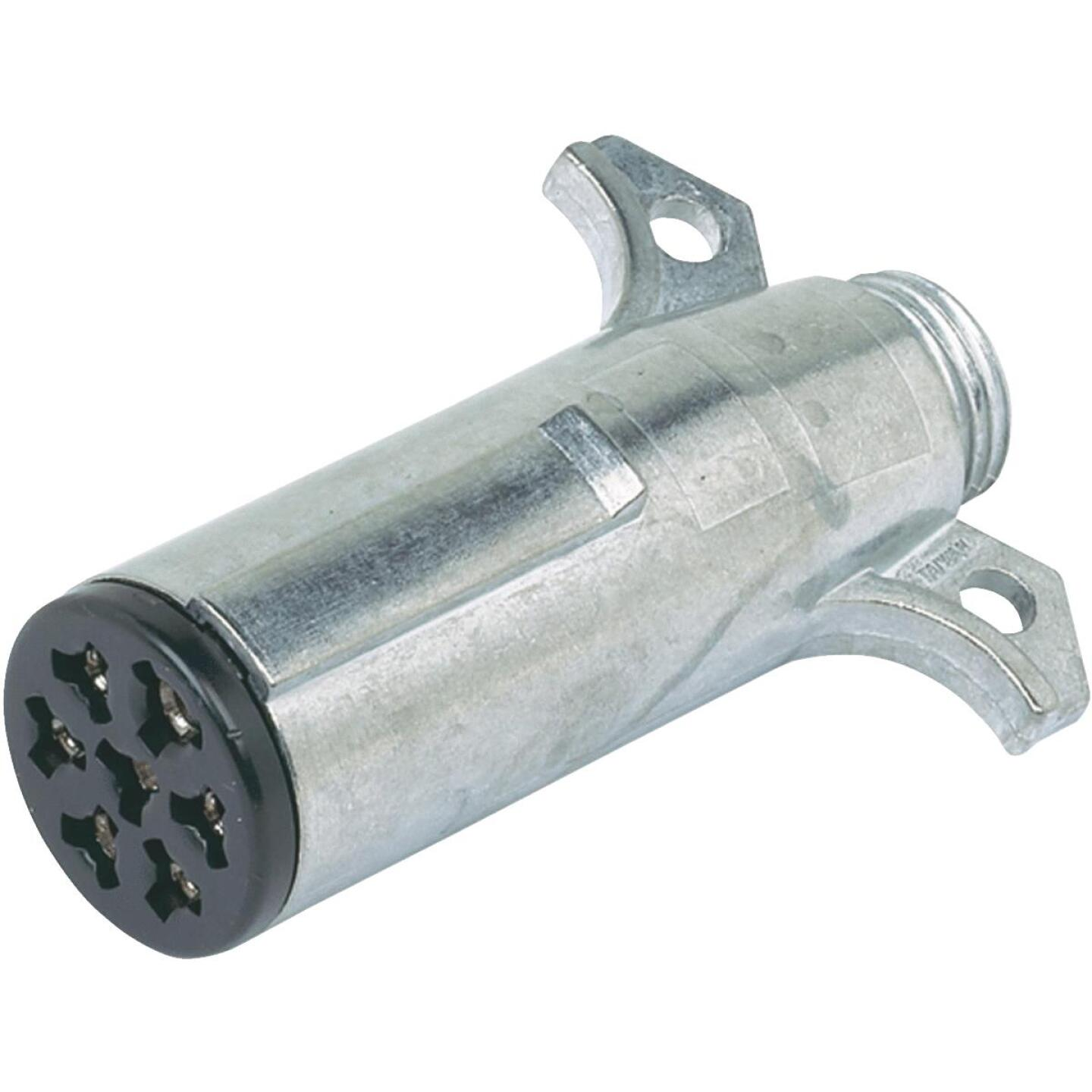 Hopkins 7-Round Trailer Side Connector Image 1